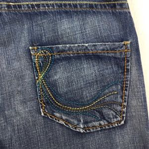 Division E Mens Vintage Denim Straight Jeans Sz 38